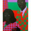 Jon Key. <em>Family Portrait No. 5 (Linda + Ken)</em>, 2020. Acrylic on panel, 36 x 24 inches (91.4 x 61 cm) thumbnail