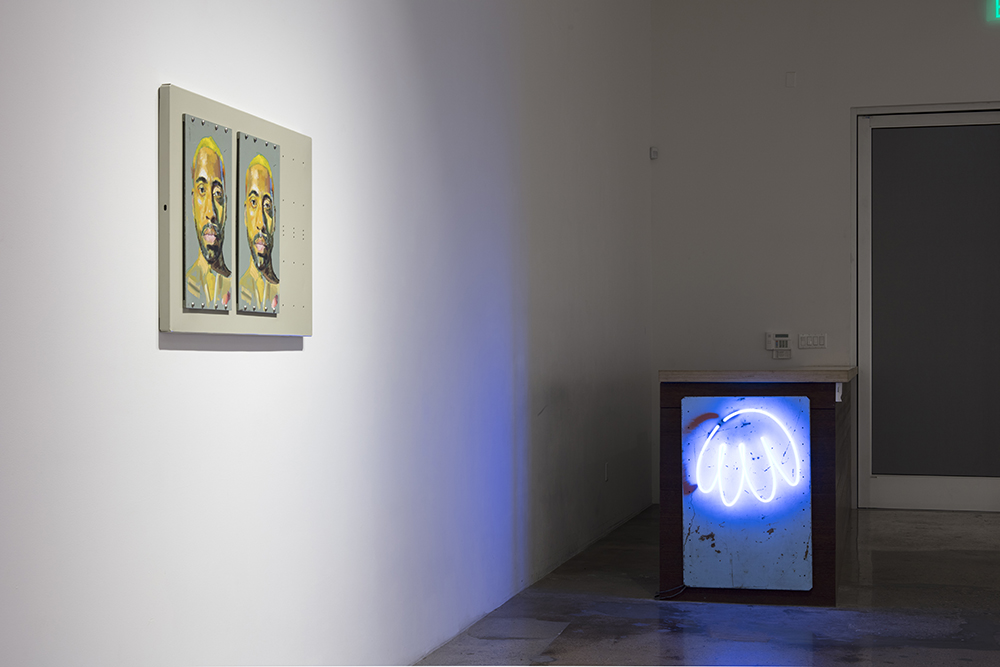<em>Cartoons Too</em>. Installation view, Steve Turner, 2020
