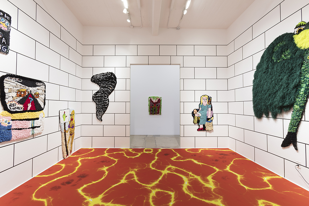 <em>Making Bets in a Burning House</em>, Installation view, Steve Turner, 2020