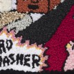 Hannah Epstein. <em>Nerd Smasher</em>, 2019. Wool, polyester, cotton and burlap, 74 x 47 inches  (188 x 119.4 cm) Detail thumbnail