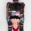 Hannah Epstein.<em> Hanski's BDE</em>, 2020. Wool, acrylic, polyester, burlap and polyfill, 93 x 44 x 19 inches (236.2 x 111.8 x 48.3 cm) thumbnail