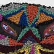 Hannah Epstein. <em>Eye Dazzler</em>, 2020. Wool, polyester, burlap and video screens with circuit board players, 26 1/2 x 29 1/2 inches  (67.3 x 74.9 cm) Detail thumbnail