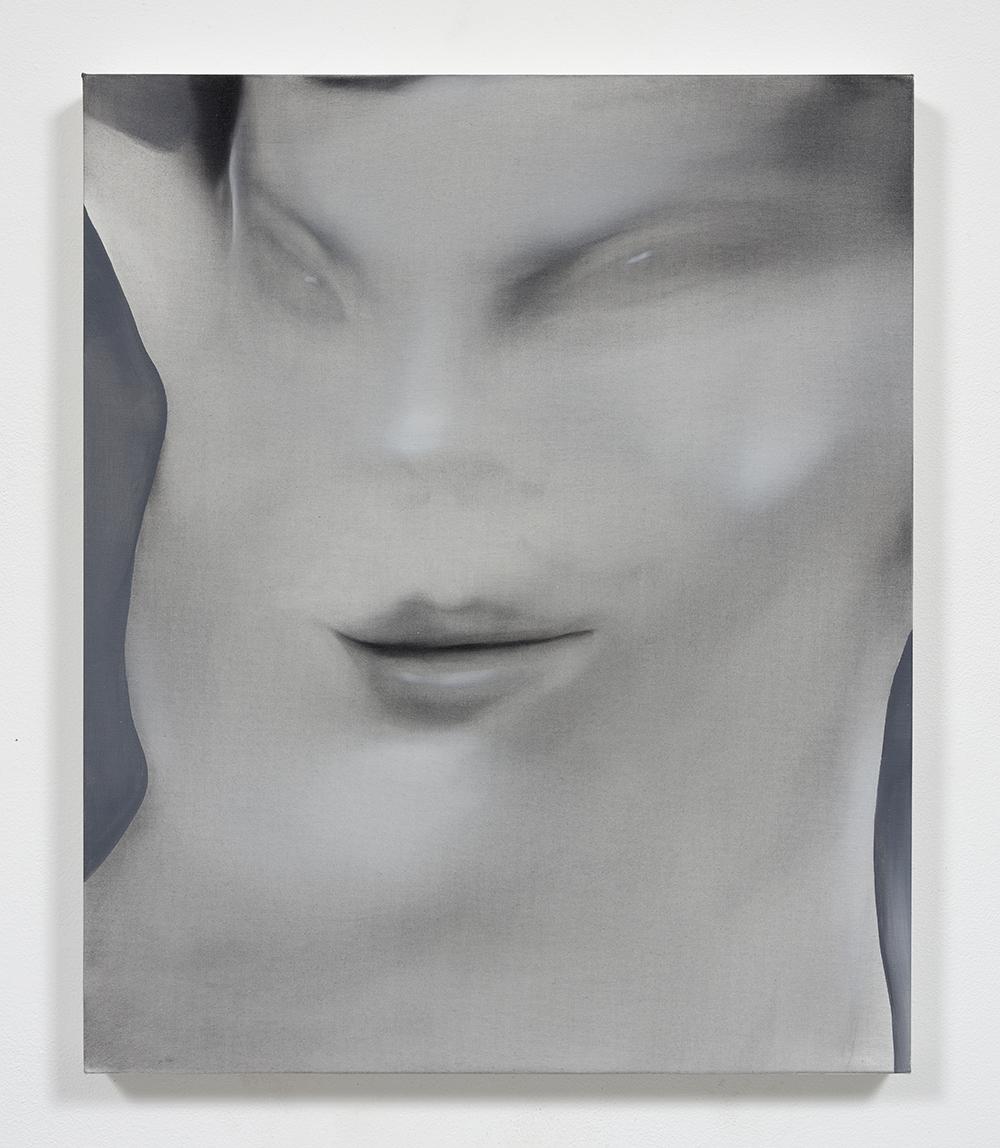 Jingze Du. <em>Kiwi</em>, 2020. Oil on linen, 23 5/8 x 19 5/8 inches (60 x 50 cm)