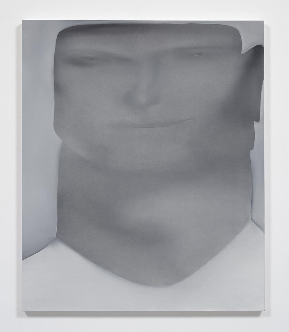 Jingze Du. <em>The Chef</em>, 2020. Oil on linen, 47 1/4 x 39 3/8 inches (120 x 100 cm)