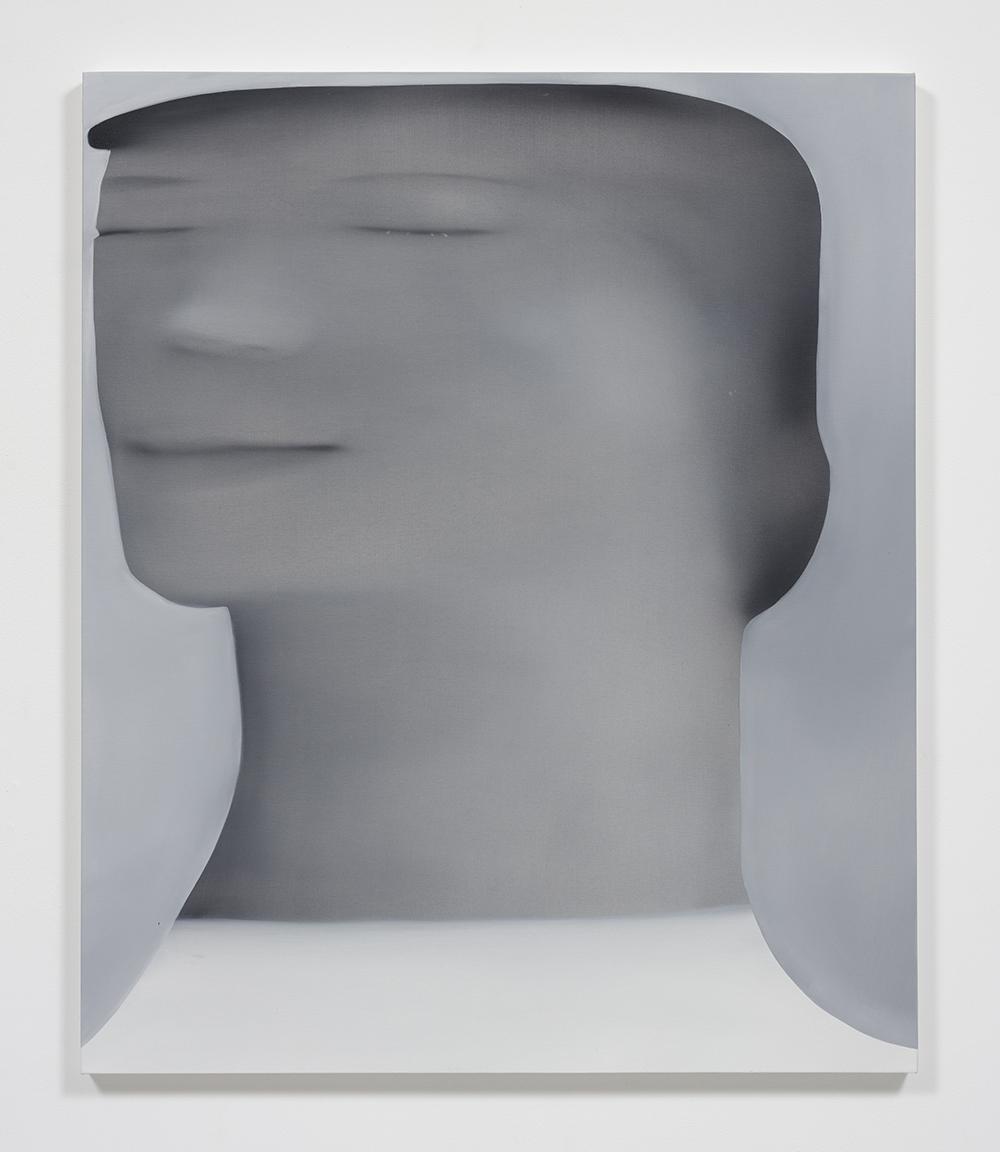 Jingze Du. <em>Sunlight in the Garden</em>, 2020. Oil on linen, 47 1/4 x 39 3/8 inches (120 x 100 cm)