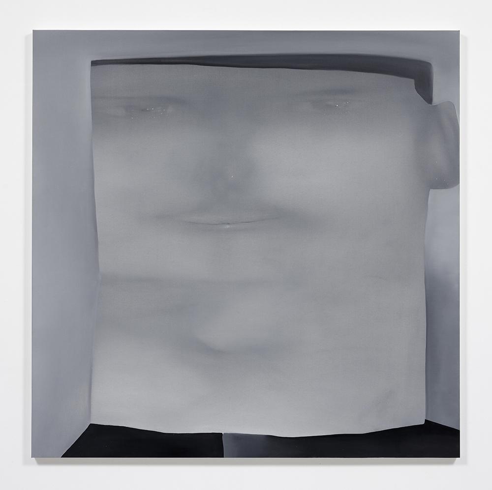 Jingze Du. <em>Visiting Mathieu</em>, 2020. Oil on linen, 59 x 59 inches (150 x 150 cm)