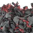 Kiyoshi Kaneshiro. <em>Fractured Vessel (37)</em>, 2020. Porcelain and glaze, 6 x 10 1/2 x 11 1/4 inches (15.2 x 26.7 x 28.6 cm) Detail thumbnail