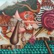 Siro Cugusi. <em>Forest V</em>, 2019. Oil on canvas, 76 3/4 x 106 1/4 inches (195 x 270 cm) thumbnail