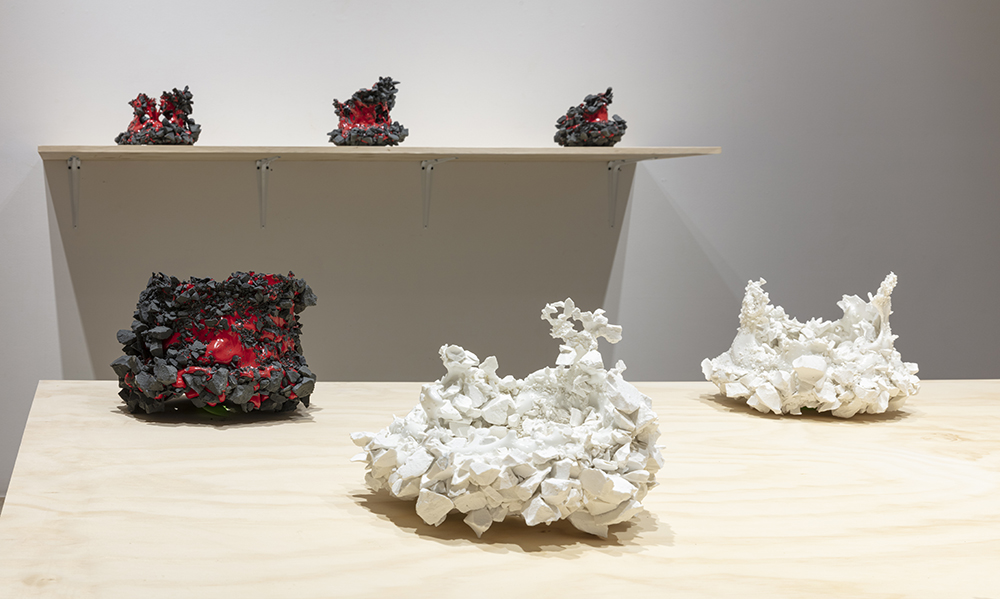 <em>Starburst</em>. Installation view, Steve Turner, 2020