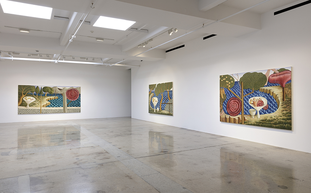 <em>Forest</em>. Installation view, Steve Turner, 2020