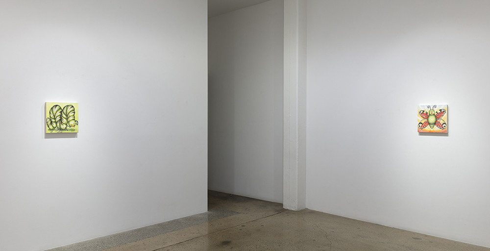 <em>Schadenfreude</em>. Installation view, Steve Turner, 2020