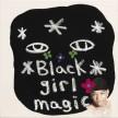 David Leggett. <em>Witch hat</em>, 2018. Acrylic, oil bar, felt and collage on canvas, 16 x 16 inches (40.6 x 40.6 cm) thumbnail