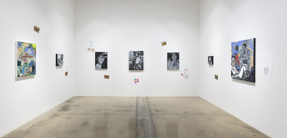 <em>Memoir 1</em>. Installation view, Steve Turner, 2020