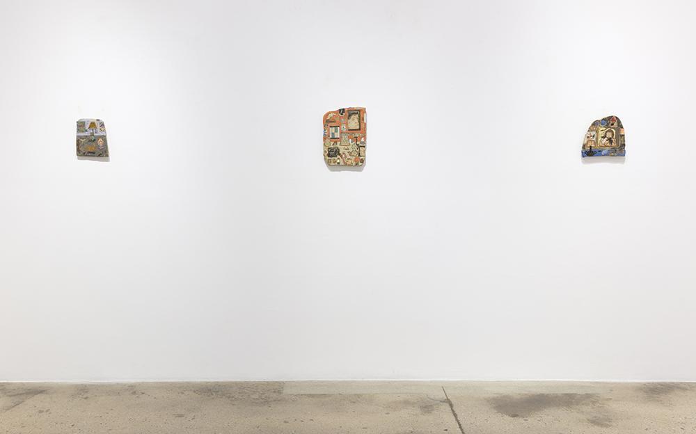 <em>Tableaux Vivant</em>. Installation view, Steve Turner, 2020