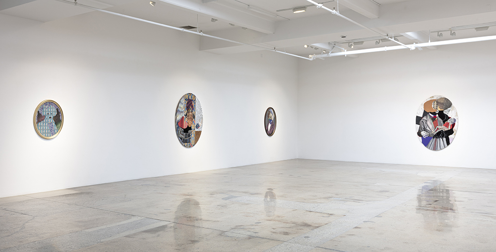 <em>Walk the Air</em>. Installation view, Steve Turner, 2020