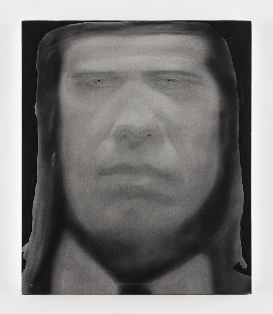 Jingze Du, Vincent, 2020 Oil on linen 23 5/8 x 19 5/8 inches (60 x 50 cm)