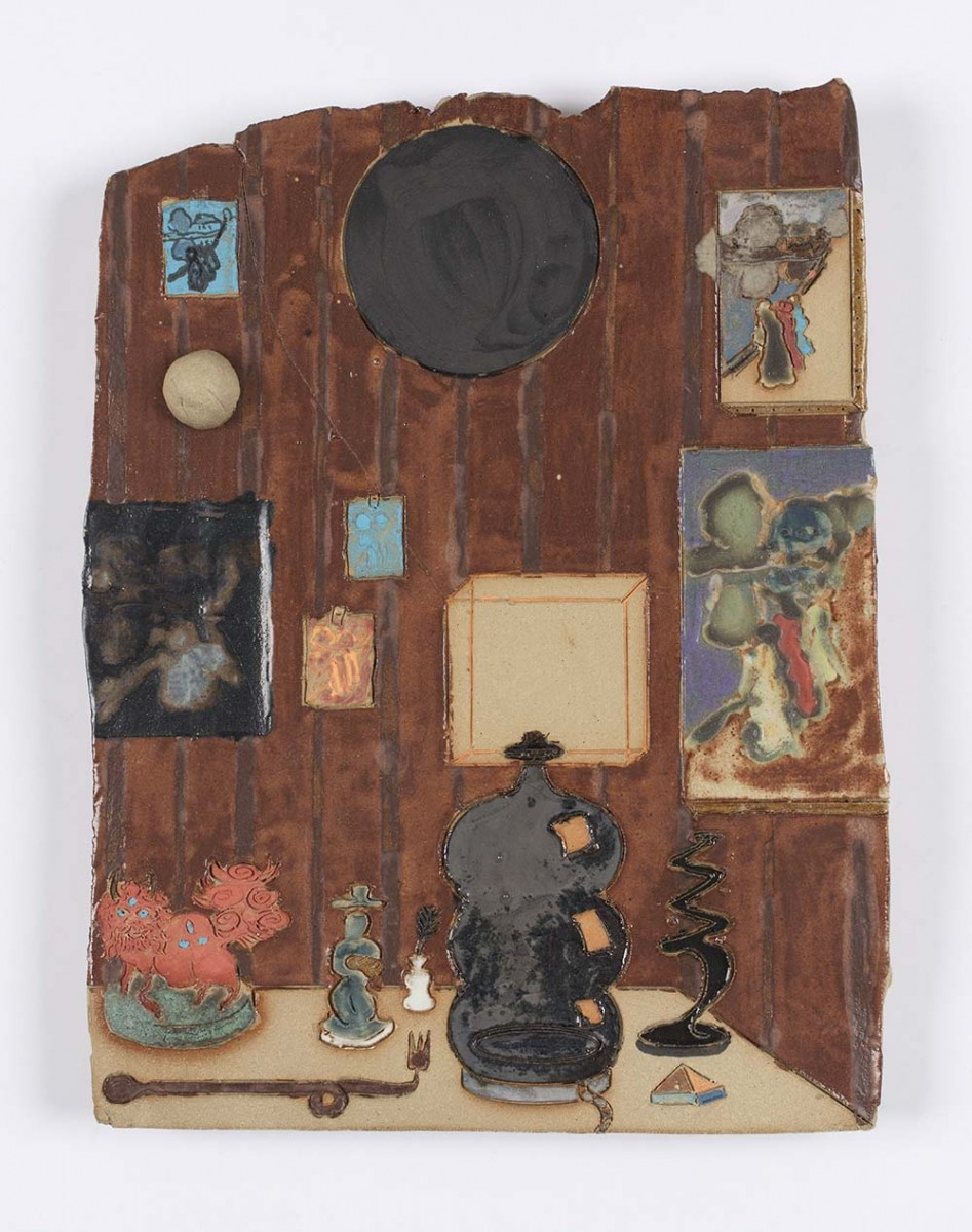 Kevin McNamee-Tweed. <em>Study</em>, 2020. Glazed ceramic, 12 x 9 inches (30.5 x 22.9 cm)