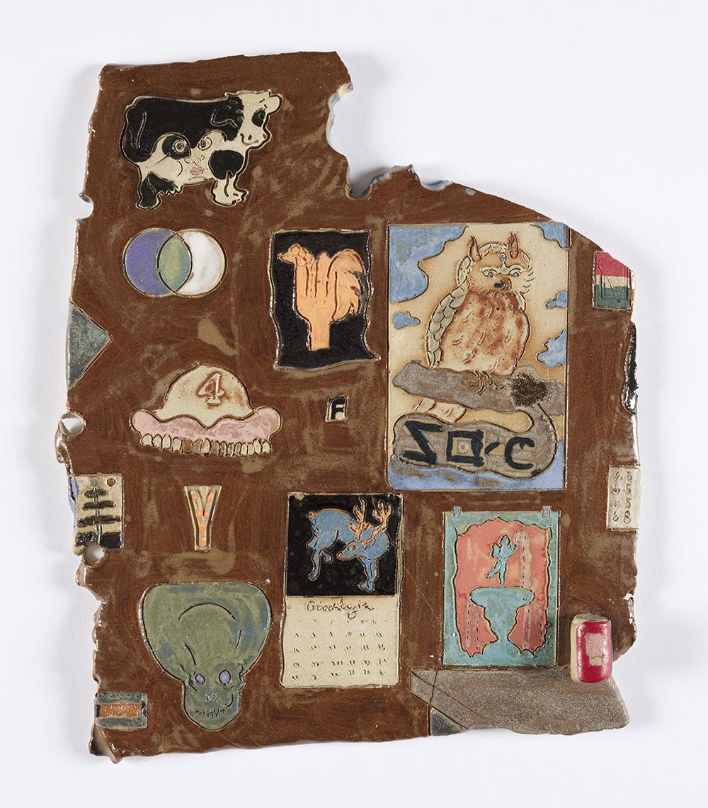 Kevin McNamee-Tweed. <em>Y Corner</em>, 2020. Glazed ceramic, 12 3/4 x 11 inches (32.4 x 27.9 cm)