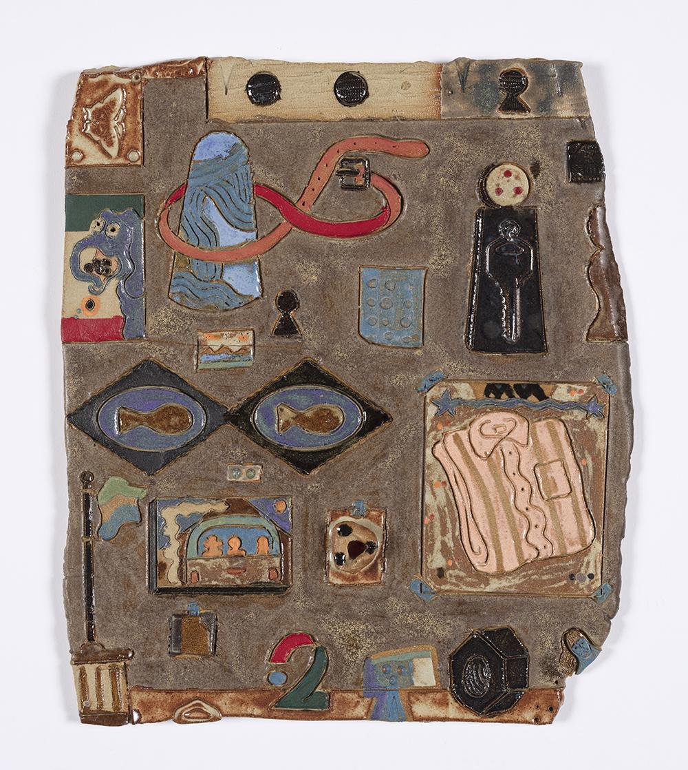 Kevin McNamee-Tweed. <em>Vueinyere</em>, 2020. Glazed ceramic, 11 3/4 x 10 inches (29.8 x 25.4 cm)