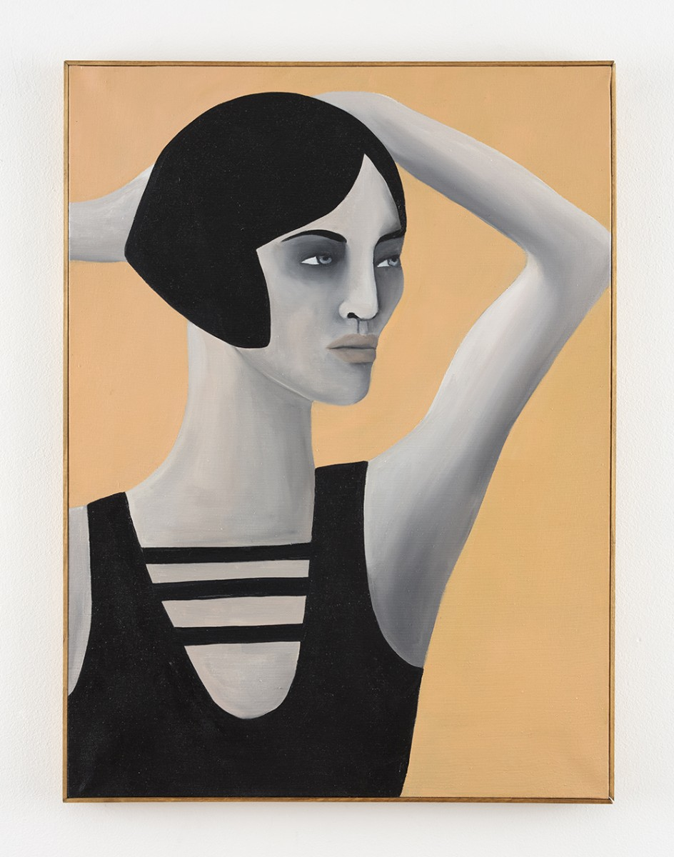 Rebecca Brodskis. <em>Thelma</em>, 2020. Oil on linen, 31 7/8 x 23 5/8 inches (81 x 60 cm)