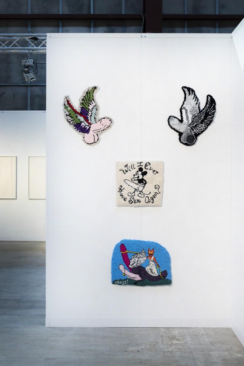 Enter Art Fair. Installation view, Copenhagen, 2020