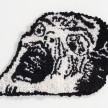 Hannah Epstein. <em>Horror</em>, 2020. Wool, acrylic, cotton and burlap, 12 x 16 inches (30.5 x 40.6 cm) thumbnail