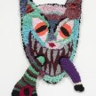 Hannah Epstein. <em>Chewy</em>, 2020. Wool, acrylic, cotton and burlap, 32 x 25 inches (81.3 x 63.5 cm) thumbnail