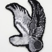 Hannah Epstein. <em>Flying Phallus</em>, 2020. Wool, acrylic, cotton and burlap, 24 x 17 inches (61 x 43.2 cm) thumbnail