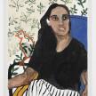Shirley Villavicencio Pizango. <em>Whispers of Nostalgia</em>, 2020. Acrylic on canvas, 27 1/2 x 21 1/4 inches (70 x 54 cm) thumbnail