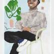 Shirley Villavicencio Pizango. <em>An Abandoned Song</em>, 2019. Acrylic on canvas, 51 1/8 x 31 1/2 inches (130 x 80 cm) thumbnail