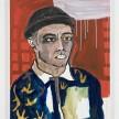 Shirley Villavicencio Pizango. <em>His Days Come at Night</em>, 2020. Acrylic on canvas, 35 3/8 x 27 1/2 inches (90 x 70 cm) thumbnail