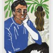 Shirley Villavicencio Pizango. <em>Reaching Your Side</em>, 2020. Acrylic on canvas, 35 3/8 x 27 1/2 inches (90 x 70 cm) thumbnail