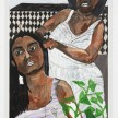 Shirley Villavicencio Pizango. <em>Speaking Without Words</em>, 2020. Acrylic on canvas, 35 3/8 x 27 1/2 inches (90 x 70 cm) thumbnail