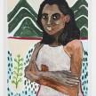 Shirley Villavicencio Pizango. <em>Hole in Chiclayo Avenue</em>, 2020. Acrylic on canvas, 35 3/8 x 27 1/2 inches (90 x 70 cm) thumbnail
