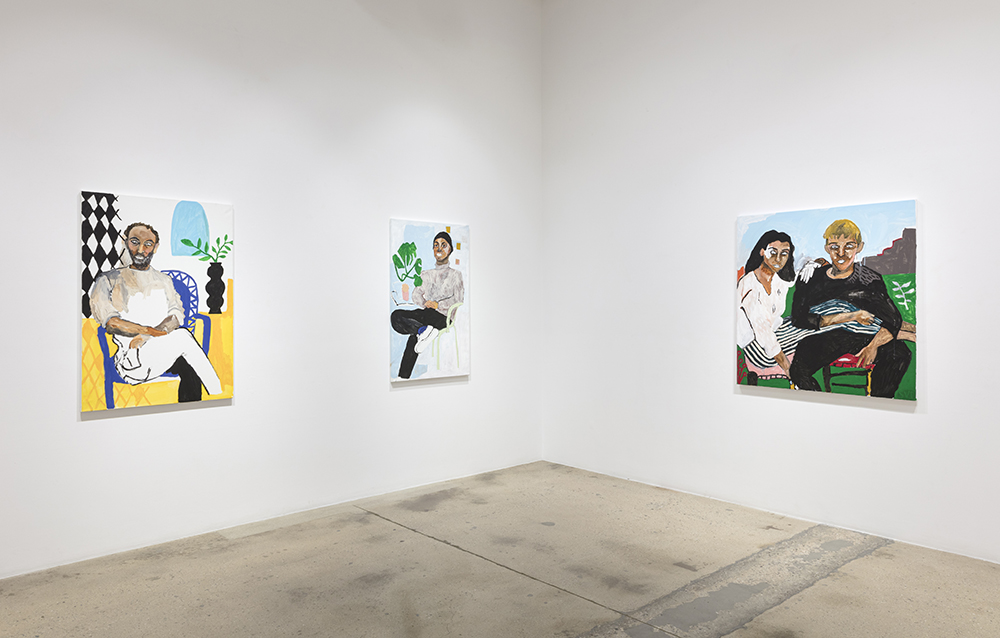 <em>Digging a Hole to the Surface</em>. Installation view, Steve Turner, 2020