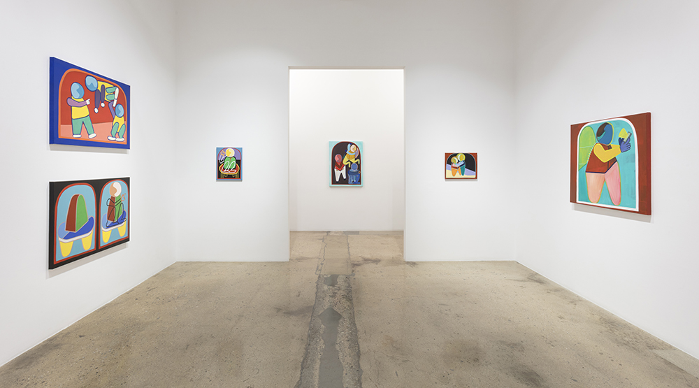 <i>Icons</i>. Installation view, Steve Turner, 2020