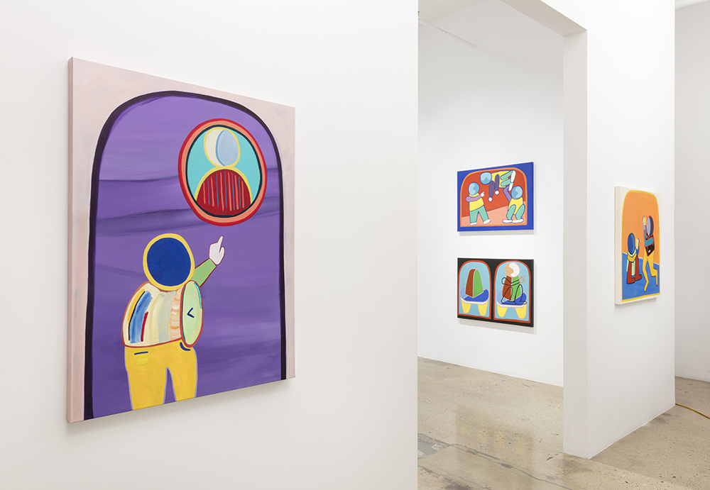 <em>Icons</em>. Installation view, Steve Turner, 2020