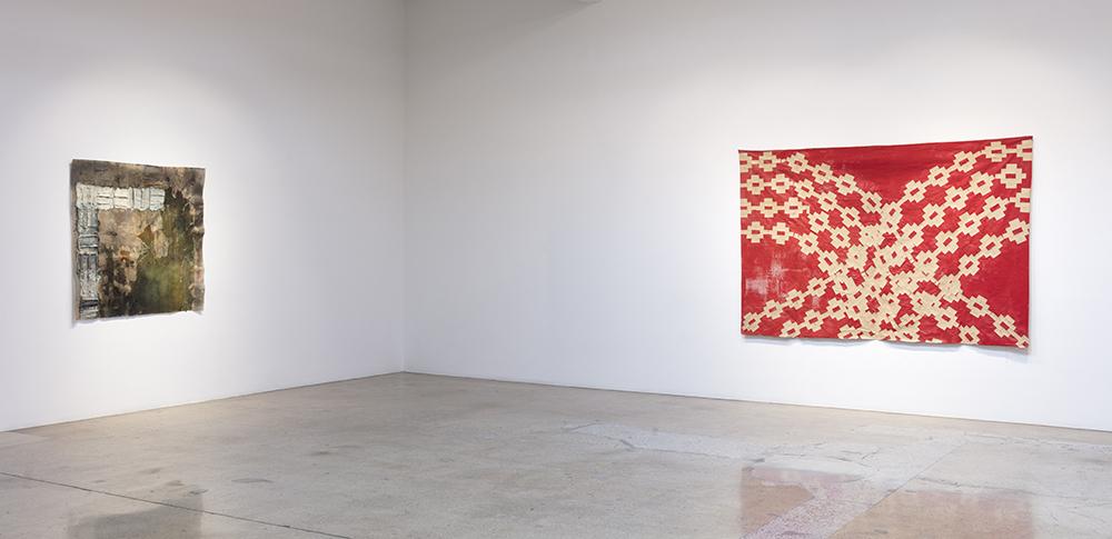 <em>The Dirt That Binds Me</em>. Installation view, Steve Turner, 2020
