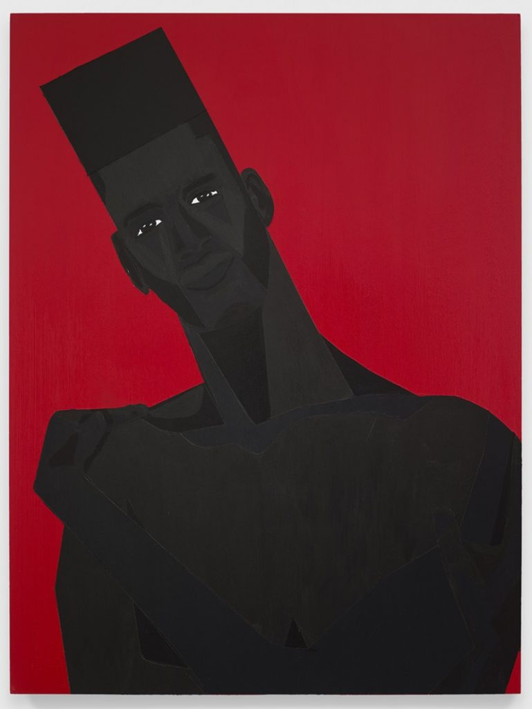 Jon Key. The Man No. 11, 2020. Acrylic on panel, 24 x 18 inches (61 x 45.7 cm)