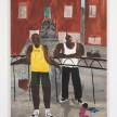 Marcus Leslie Singleton. <em>Bergen Street No. 2</em>, 2020. Oil on wood panel, 40 x 30 inches (101.6 x 76.2 cm) thumbnail