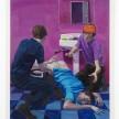 Patrick Bayly. <em>violet, bathroom</em>, 2020. Oil on linen, 65 1/2 x 49 1/2 inches (166.4 x 125.7 cm) thumbnail