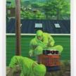 Patrick Bayly. <em>green, garden</em>, 2020. Oil on linen, 79 x 49 inches (200.7 x 124.5 cm) thumbnail