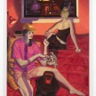 Patrick Bayly. <em>red, bedroom</em>, 2020. Oil on linen, 69 1/2 x 55 1/4 inches (176.5 x 140.3 cm) thumbnail