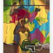 Patrick Bayly. <em>yellow, stage</em>, 2020. Oil on linen, 80 x 65 inches (203.2 x 165.1 cm) thumbnail
