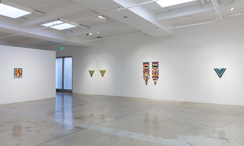 <em>Triple Play</em>. Installation view, Steve Turner, 2020