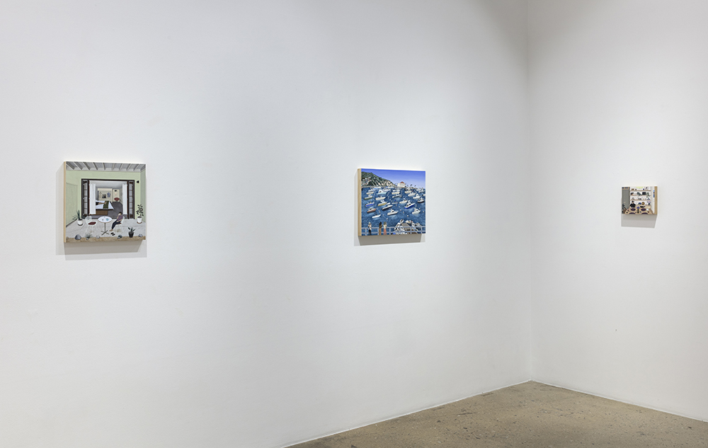 <em>Yesterday</em>. Installation view, Steve Turner, 2020
