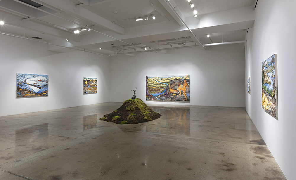 <em>Grown Woman</em>. Installation view, Steve Turner, 2021