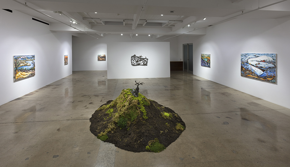 <em>Grown Woman</em>. Installation view, Steve Turner, 2021