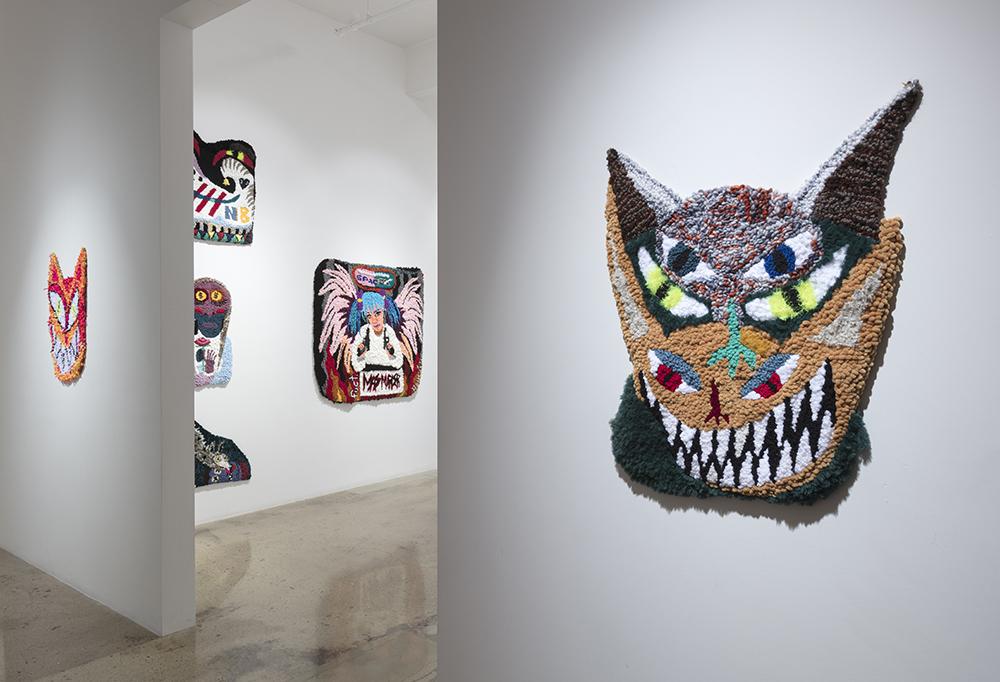 <em>Kill Your Captors</em>. Installation view, Steve Turner, 2021