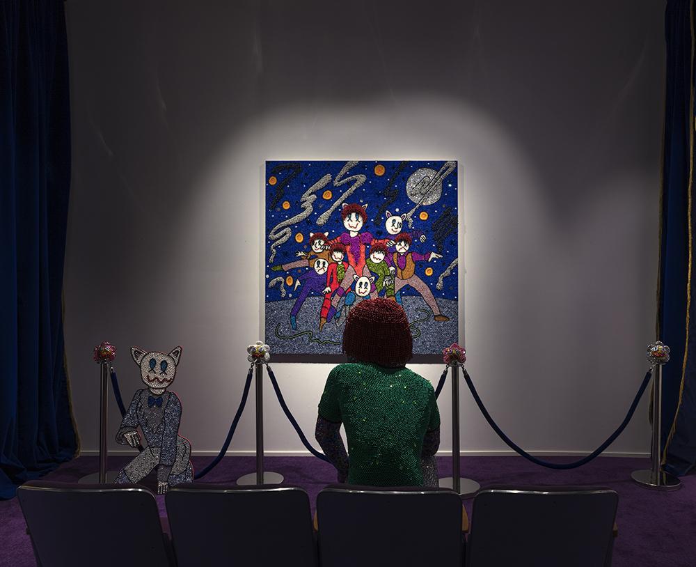 <em>Soliloquy For Past Futures</em>. Installation view, Steve Turner, 2021
